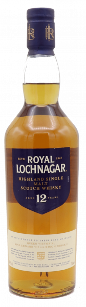 Royal Lochnagar, 12 Years Single Malt 40%