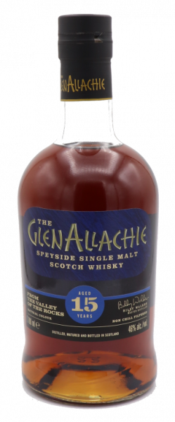 GlenAllachie 15 Years Single Malt 46%