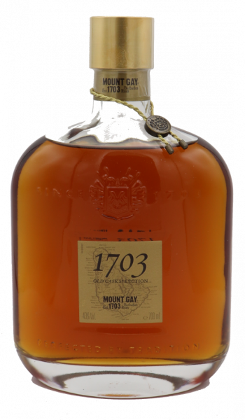 Mount Gay Rum 1703 Old Cask Selection 43%