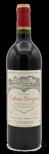 Château Calon Segur, Saint Estephe 2001