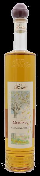 """Berta, """"Monprà"""" 40° Grappa Invecchiata (Barbera, Nebbiolo) 0,7l"""