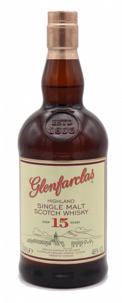 Glenfarclas 15 Years Single Malt 46%