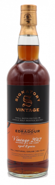 Signatory Edradour Vintage 2012 aged 8 years Small Batch Edition #8 48,1%