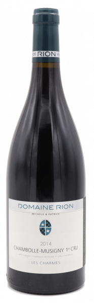 Domaine Michele & Patrice Rion, Chambolle-Musigny 1er Cru Les Charmes 2014