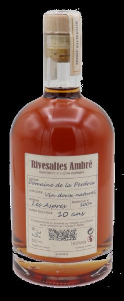 La Perdrix, Rivesaltes Ambré Collection