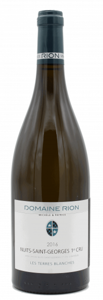 """Domaine Michele & Patrice Rion, Nuits St. Georges 1er Cru """"Les Terres Blanches"""" 2016"""