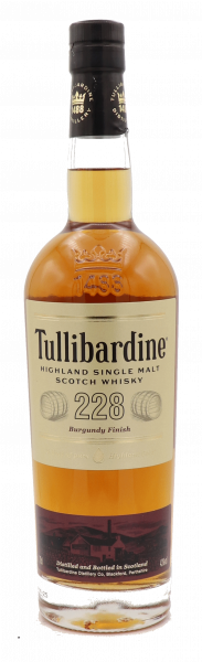 Tullibardine 228, Burgundy Finish, Single Malt 43%