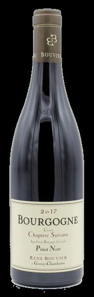 """René Bouvier, Bourgogne rouge """"Cuvée Chapitre Suivant"""" 2017"""
