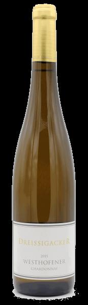 Dreissigacker, Westhofener Chardonnay QbA trocken 2015 BIO