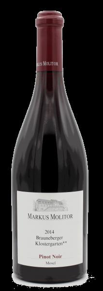 Molitor, Pinot Noir Brauneberger Klostergarten** 2014 trocken