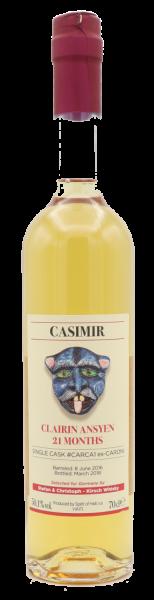 Clairin CASIMIR 2016/2018, 21 Months, Single Cask, Ex-Caroni Cask 50,1%