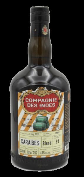 Compagnie des Indes Rum Caraibes PX Cask 43%