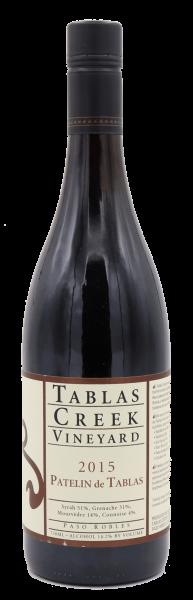 Tablas Creek Vineyard, Patelin de Tablas red 2015