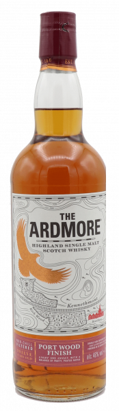 The Ardmore 12 Years Port Wood Finish Single Malt 46%