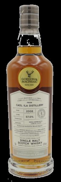 Gordon & Macphail Connoisseurs Choice Caol Ila Distillery 2008/2021 - 57% - Ltd. 314 Fl.