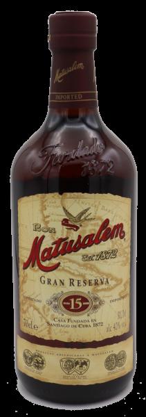 Ron Matusalem Gran Reserva Rum, 15 years 40%