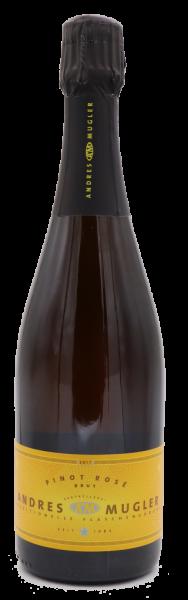 ANDRES & MUGLER Pinot Rosé Brut 2017 - BIO