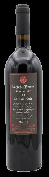 Borie de Maurel, Belle de Nuit 2015 - BIO