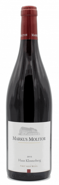Molitor, Haus Klosterberg Pinot Noir 2015 trocken