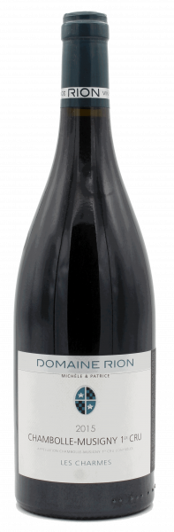 Domaine Michele & Patrice Rion, Chambolle-Musigny 1er Cru Les Charmes 2015