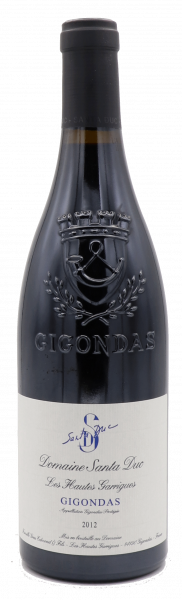 Domaine Santa Duc, Gigondas Prestiges des Hautes Garrigues 2012
