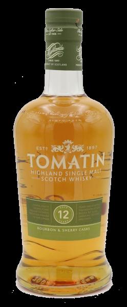 Tomatin 12 Years Single Malt 40%
