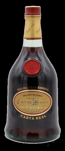 Cardenal Mendoza Brandy Carta Real 40%