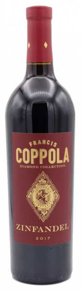 Francis Ford Coppola Zinfandel Red Label Diamond Series 2017