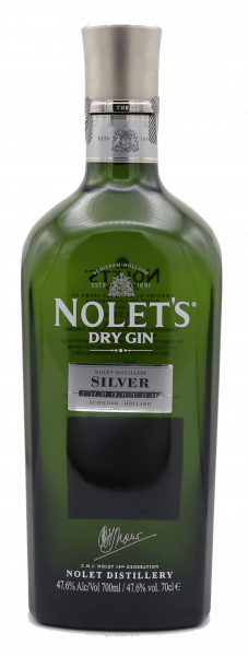 Nolet's Silver Dry Gin 47,6%