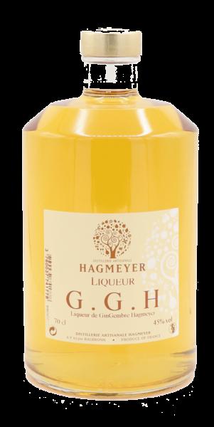 G.G.H. Liqueur de GinGembre 45° Hagmeyer Distillerie Artisanale (Ingwer) 0,70 Liter
