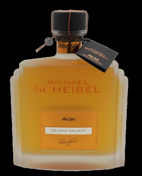 """Scheibel Alte Zeit """"Orange-Brandy"""" Likör - naturtrüb 35%"""