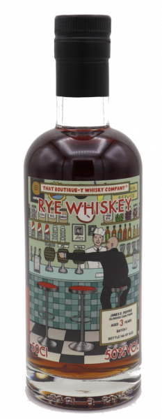 That Boutique-y Whisky Company, James E. Pepper 3 Years 50,0% #Batch 1 - Ltd. 1622 Fl.