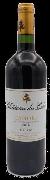 Château du Cèdre Cahors 2016 - BIO