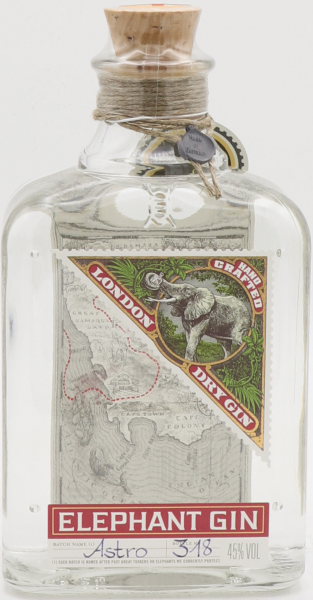 Elephant Gin, Handcrafted London Dry Gin 45%