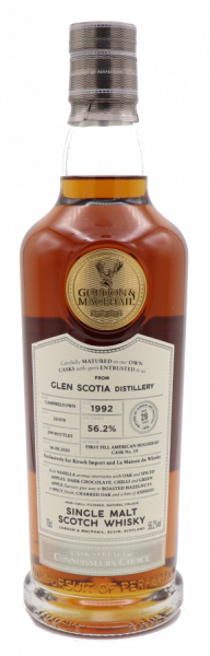 Gordon & Macphail Connoisseurs Choice Glen Scotia 1992/2020 - 56,2% - limitiert auf 299 Fl.